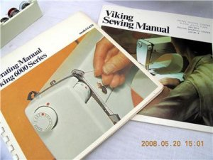 VIKING HUSQVARNA 6430 SEWING MACHINE MANUALS CD