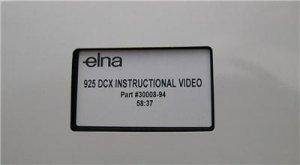 ELNA 925 DCX 905 & 904 DCX PRO INSTRUCTIONAL VIDEO DVD
