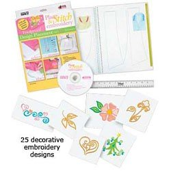 PLACE AND STITCH EMBROIDERY FOOLPROOF DESIGN PLACEMENT