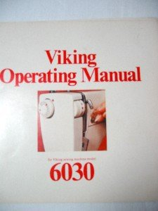 VIKING HUSQVARNA 6030 Sewing Machine Manual on CD