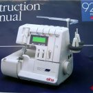 ELNA  925 DCX INSTRUCTION MANUAL  PRO 905 & 904 SERGER