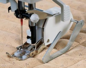 DELUXE WALKING FOOT LOW SHANK with guide for brother sewing machine
