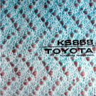 TOYOTA KS 858 KNITTING MACHINE INSTRUCTION MANUAL