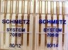 10 Bernina Schmetz Needlels 705 B 80/12 & 90/14 New
