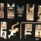 11 Sewing Feet for Low Shank Sewing Machines Viking,Pfaff, Elna,Brother,Janome,Singer etc.