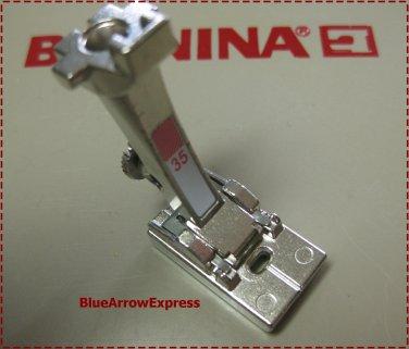 Original Bernina Invisible Concealed Zipper Foot # 35 for ALL Artista, Activa, Virtuosa, Aurora