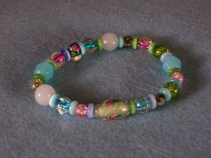 Lovely Glass Beads Bracelet