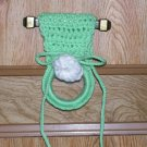 Green Dishtowel Holder