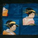 Blue China Girl Checkbook Cover/Wallet or Coupon Organizer