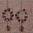 Wreath Dangle Earrings