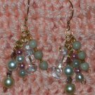 Pearl N Ice Earrings