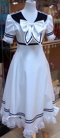 Lolita cosplay white dress