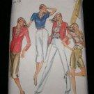 Vintage 1970's Butterick Sewing Pattern 3161 Size 10 Jacket Blouse Shirt Pants Shorts Skirt UNCUT