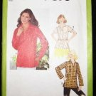 Vintage 1970's Simplicity Sewing Pattern 9076 Blouse with Belt Size 16 UNCUT