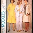 Vintage 1970's McCalls Carefree Sewing Pattern 4409 Jacket Pants Skirt Size 16 UNCUT
