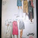Vintage 1970's Simplicity Jiffy Sewing Pattern 9099 Mini Midi Maxi Skirt Plus Size 18 UNCUT
