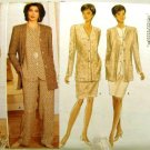 Vintage 1990's Butterick Sewing Pattern 4154 Jacket Top Skirt Pants Plus Size 18 20 22 UNCUT