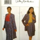 Vintage 1990's Butterick Sewing Pattern 4090 Jacket Top Skirt Size 14 16 18 Petite UNCUT