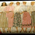 80's Butterick Easy Classics Sewing Pattern 5736 Full Flared Skirt 6 Styles Size 14 16 18 CUT