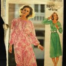 Vintage 70's Butterick Matti of Lynne Sewing Pattern 5391 Dress Top Skirt Belt Size 10 CUT