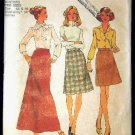 Vintage 1970's Simplicity Sewing Pattern 7142 Skirt 3 Lengths Plus Size 44 - 46 UNCUT
