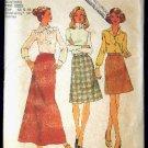 Vintage 1970's Simplicity Sewing Pattern 7142 Skirt 3 Lengths Plus Size 44 - 46 UNCUT