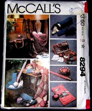 MCCALLS CRAFT PATTERN