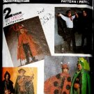 Simplicity Costume Sewing Pattern 8270 Lady Bug Elvira Robin Hood Dracula Childs Small - Large CUT