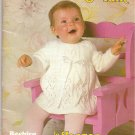 Patons Knitting Pattern Booklet 463 Beehive Baby Talk Sweater Bunting Blanket Hat Leggings A1008
