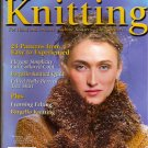 Winter 2003 Ultimate Knitting Magazine Patterns for Scarf, Bargello Knitted Quilt, Coat  A1016