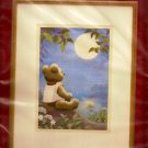 Needle Treasures Stitchery Crewel Kit Moonlight Teddy in Sealed Package