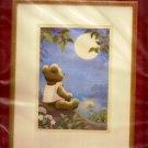 Needle Treasures Stitchery Crewel Kit Moonlight Teddy in Sealed Package