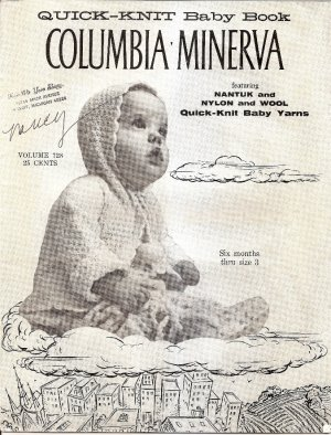 "Amazon.com: COLUMBIA MINERVA ""QUICK-KNIT BABY BOOK"" 12 Vintage"