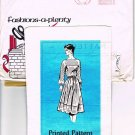 Vintage 1960's Mail Order Sewing Pattern Fashions A Plenty Detroit News 4704 Dress Size 16 CUT MO101