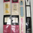 4 Vintage Zippers Zipper Talon and J & P Coats 9 inch Skirt or Neckline Assorted Colors #115