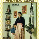 Macrame Pattern Instruction Booklet Old Knots and New Ideas Cup Holder Diaper Hanger Lots More A1071