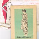 70's Mail Order Sewing Pattern Anne Adams 4621 Bo Ho Dress with Tie Teen Age Size 12 UNCUT MO 108