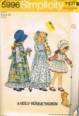Misses 1950s Jumper, Dress Sewing Pattern Size 16 Bust 34