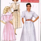 Butterick Sewing Pattern 5992 JG Hook Button Front Long or Short Sleeve Shirt Dress Size 12 UNCUT