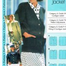 Sewing Step by Step Pattern Cardigan Jacket Petite Misses Plus All sizes 4 - 22 UNUSED