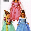 Butterick Costume Sewing Pattern 4599 Fairy Princess with Hat and Veil Kids Girls All Sizes UNCUT