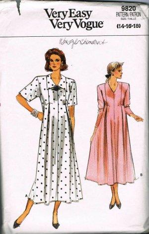As I Said: Elegant Maternity Dress - Vogue 9277