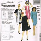 Tunic Skirt One or Two Piece Dress 90's Easy McCalls Sewing Pattern 5932 Plus Size 24 UNCUT
