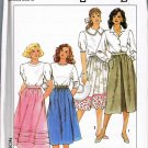 80's Vintage Simplicity Sewing Pattern 9593 Gathered Full Skirt Plus Size 14 16 18 20 UNCUT