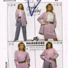1980's Simplicity Sewing Pattern 8904 Christie Brinkley Top Pants Skirt Jacket Plus Size 18 UNCUT
