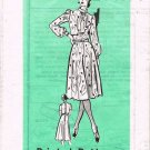 70's Mail Order Sewing Pattern 9361 Short Sleeve Long Sleeve Sleeveless Dress Size 14 UNCUT MO 110