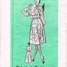 70's Mail Order Sewing Pattern 9361 Short Sleeve Long Sleeve Sleeveless Dress Size 14 UNCUT MO 110