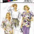 Vintge Burda Super Easy Sewing Pattern 4808 Top Shirt Blouse Plus Size 18 20 22 24 26 28 UNCUT