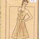 Vintage 70's Pauloa Sewing Pattern 1021 Pullover Hawaiian Spaghetti Strap Dress Size 8 12 16 UNCUT