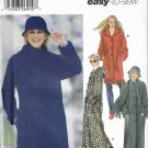 Simplicity Sewing Pattern 5406 Winter Button Front Coat Scarf Hat Size 6, 8, 10, 12, 14, 16 UNCUT